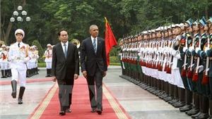 VIDEO: Tổng thống Hoa Kỳ Barack Obama duyệt đội danh dự