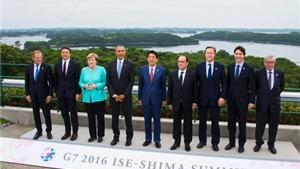 Hội nghị G7: Chưa có kế hoạch bãi bỏ cấm vận đối với Nga