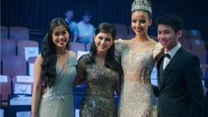Mẹ chồng Tăng Thanh Hà mua váy gần nửa tỉ tặng luôn Hoa hậu Pháp