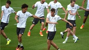 Nếu bóng đá là chuẩn bị, người Đức sẽ lại vô địch