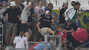UEFA sẽ điều tra về vụ CĐV Nga tấn công CĐV Anh
