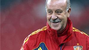 Tiêu điểm: Nụ cười của Del Bosque