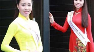 Chị em song sinh cùng thi 'Hoa hậu Bản sắc Việt toàn cầu'