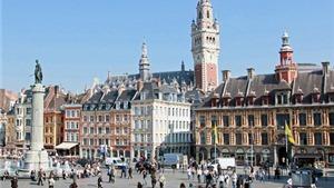 Đến thăm thành phố Lille cổ kính