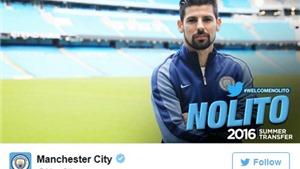 CHUYỂN NHƯỢNG ngày 1/7: Man United hưởng lợi từ Fletcher. Nolito chính thức đến Man City