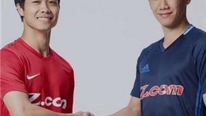 Công Phượng kề vai với Kagawa, VPF nói V-League không tiêu cực