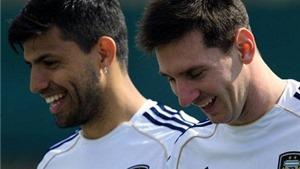 Aguero sẽ nối gót Messi từ giã đội tuyển Argentina