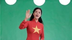 Thu Phương đẹp dịu dàng trong MV 'Việt Nam quê hương tôi'
