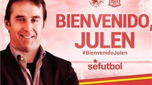 Julen Lopetegui CHÍNH THỨC thay Del Bosque dẫn dắt Tây Ban Nha