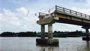 Phó Thủ tướng yêu cầu xử lý nghiêm vụ cầu mới xây đã sập ở Cà Mau