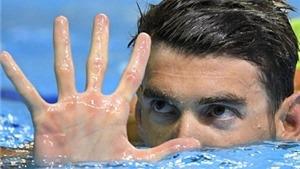 Michael Phelps: 28 huy chương, như thế là đủ rồi