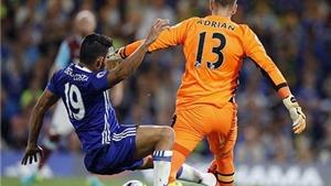 Cựu trọng tài Graham Poll: Diego Costa đáng bị đuổi trước khi ghi bàn hạ West Ham