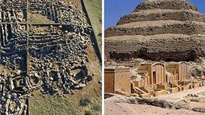 PHÁT HIỆN: Kim tự tháp đầu tiên thế giới cách đây 3.000 năm