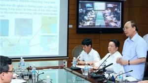 Thủ tướng yêu cầu: Từ mai, dừng các cuộc họp để tập trung chỉ đạo chống bão