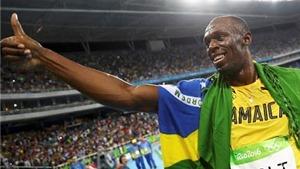 Usain Bolt đi vào ngôi đền của những huyền thoại Olympic