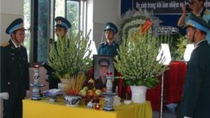Vụ rơi máy bay L39: Truy phong Thiếu úy cho phi công hi sinh Phạm Đức Trung