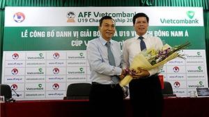 Giải U19 ĐNA 2016 được ngân hàng tài trợ