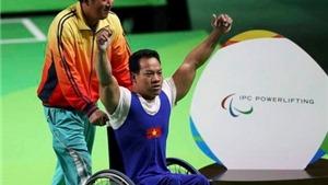 Nửa tỷ đồng tiền thưởng cho nhà vô địch Paralympic Lê Văn Công