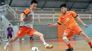 Tuyển futsal Việt Nam rèn miếng đánh không thủ môn