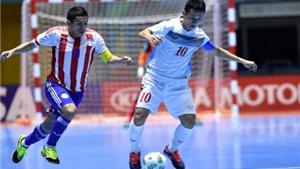 Tuyển futsal Việt Nam quyết giành điểm trước Italy