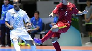 Futsal Việt Nam tràn trề cơ hội lọt vào vòng 1/8 World Cup