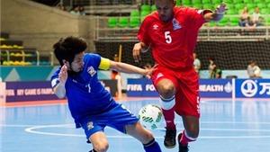 Thái Lan nối gót Việt Nam rời World Cup futsal