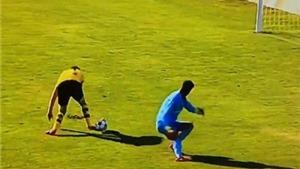 Con trai Zidane mắc sai lầm khi cố gắng bắt chước Neuer