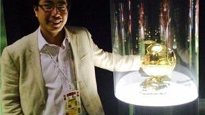 Nhà báo Trương Anh Ngọc chính thức đại diện cho Việt Nam bầu chọn Quả bóng vàng 2016