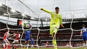 Thống kê: Thibaut Courtois đang là thủ môn TỆ NHẤT Premier League