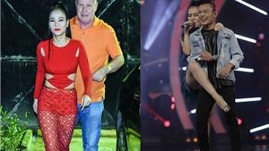 Vietnam Idol 2016: Việt Thắng sững sờ bị 'quặp chân', Thu Minh cùng chồng Tây lên sóng...