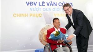 Head & Shoulders 'tiếp lửa' đam mê cho nhà vô địch Lê Văn Công