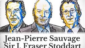 Giải Nobel Hóa học 2016 thuộc về ba nhà khoa học chế tạo máy phân tử