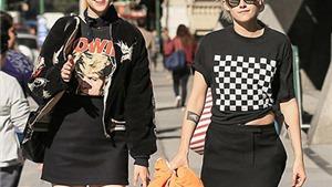 """Kristen Stewart đang """"cặp"""" với bạn gái cũ của siêu mẫu Anh Cara Delevingne?"""