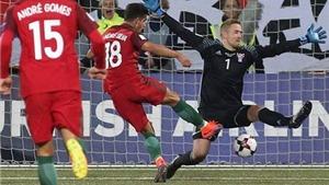 Đảo Faroe 0-6 Bồ Đào Nha: Ronaldo lu mờ trước hat-trick của tiền đạo 20 tuổi