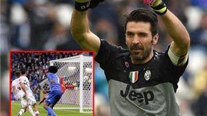Lyon 0-1 Juventus: Buffon cản penalty, Cuadrado ghi bàn ngoạn mục, Juve thoát hiểm