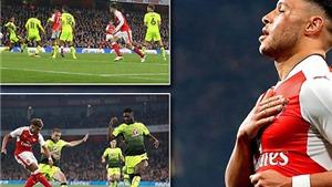 Oxlade-Chamberlain lập cú đúp, HLV Wenger đối mặt với cơn đau đầu 'dễ chịu'