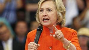 Bầu cử Mỹ 2016: Bà H.Clinton tự tin trước cuộc điều tra của FBI