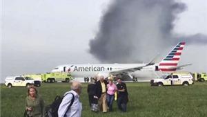 VIDEO máy bay bốc cháy ở Mỹ: Số người bị thương tăng lên 20