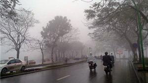 Miền Bắc mưa lạnh ngày Chủ Nhật; miền Trung có khả năng xuất hiện đợt lũ