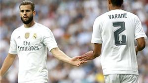 Real Madrid và sự sống trên đôi vai Varane - Nacho