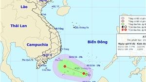 Tin mới nhất về Áp thấp nhiệt đới: Dự báo 'vùng nguy hiểm' trong 24 giờ tới