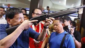 Tổng thống Duterte 'không cần' 26.000 khẩu súng trường của Mỹ