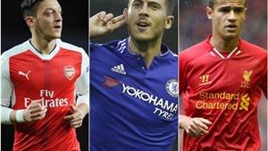 Oezil, Hazard, De Bruyne... Ai là 'vua' tổ chức tấn công ở Premier League?