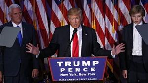 Chủ tịch nước, Thủ tướng gửi điện mừng nhân dịp Ngài Donald Trump được bầu làm Tổng thống Mỹ
