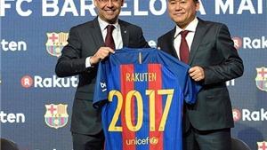 Barcelona ký hợp đồng tài trợ áo đấu khủng với tập đoàn Nhật Bản