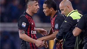 02h45 ngày 21/11, AC Milan - Inter: Bacca hay Lapadula đây, Montella?