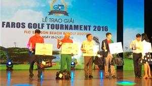 Faros Golf Tournament 2016:  Sân chơi thử thách, nhà vô địch tài năng