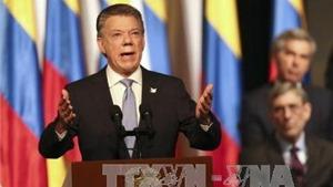 Tổng thống Colombia dành tặng Giải Nobel Hòa bình cho các nạn nhân xung đột