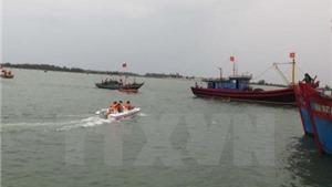 Chưa có thông tin 4 ngư dân mất tích trên biển