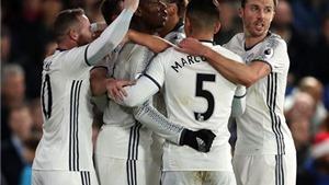 ĐIỂM NHẤN Crystal Palace 1-2 Man United: 'Quỷ đỏ' thắng may nhưng Ibrahimovic vẫn tuyệt hay
